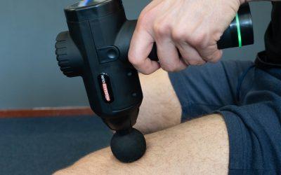 Een beenmassage apparaat voor optimale ontspanning
